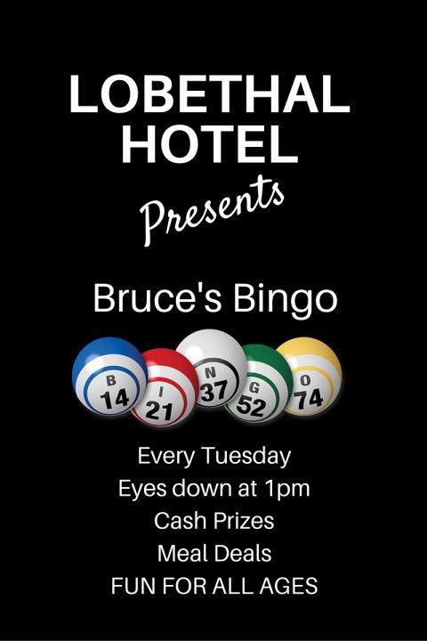 LOBETHAL HOTEL Bruce's Bingo